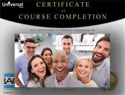 Online CEU Certificate