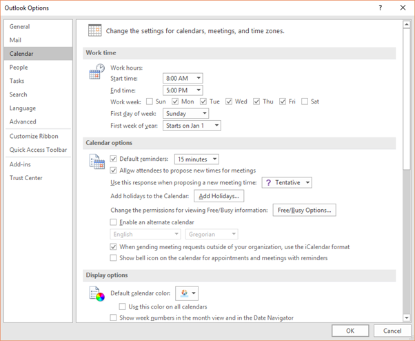 5d265c2eb557fb How to Use the Calendar in Outlook 2016