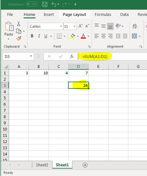 How to Create Formulas, Functions, and Do Calculations in