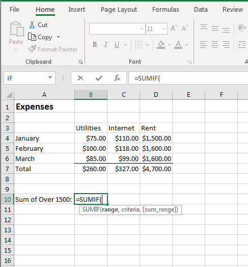 Using Mathematical Functions in Excel 2019 | UniversalClass