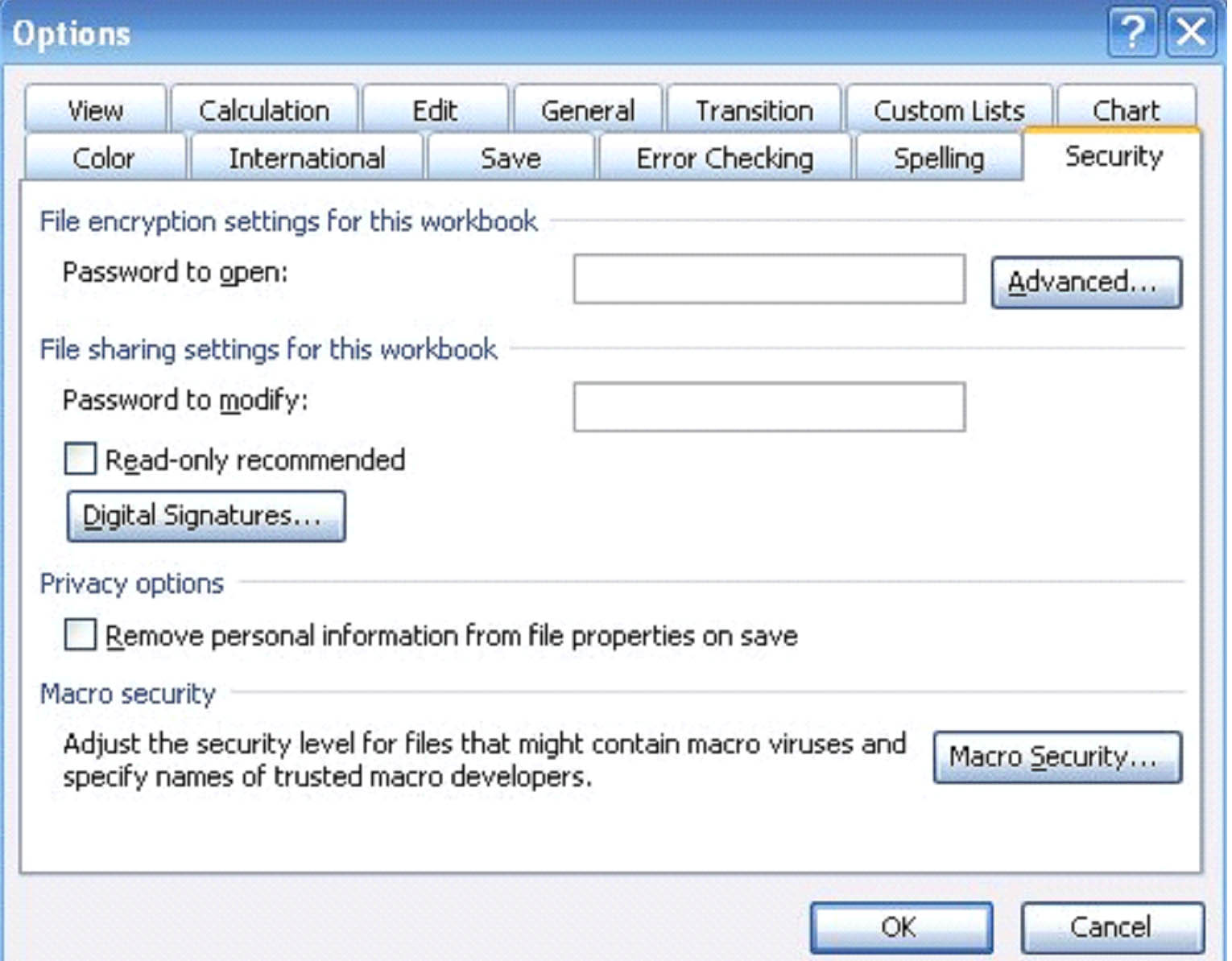 Excel 2003: How to Share, Protect and Secure Your Workbooks ...