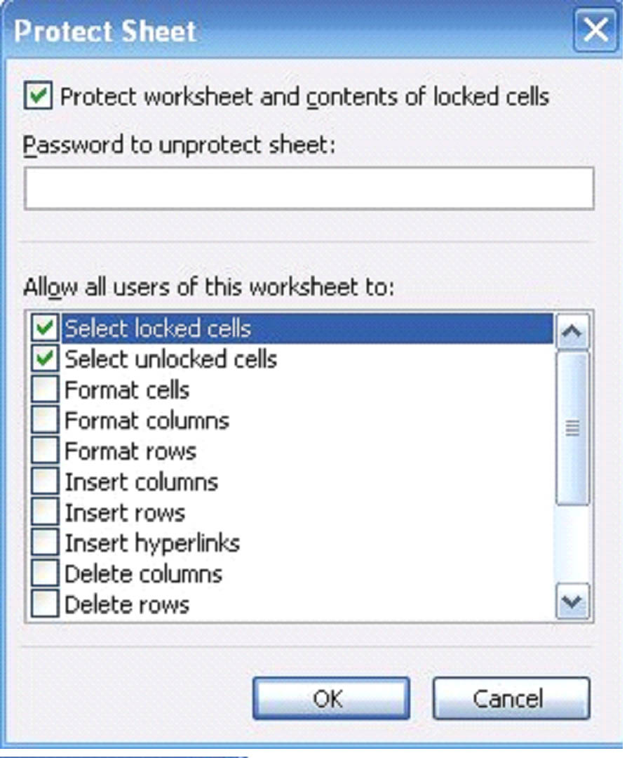 Workbooks password protect excel workbook : Excel 2003: How to Share, Protect and Secure Your Workbooks ...