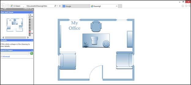 How To Share And Print Diagrams In Microsoft Visio 2013 Universalclass