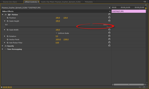 Adobe premiere how to use motion effects universalclass drag the slider to the right to increase the size of the clip drag it to the left to decrease the size of the clip ccuart Gallery
