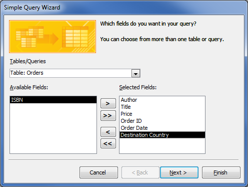 How To Create And Use Parameter Queries In Microsoft border=