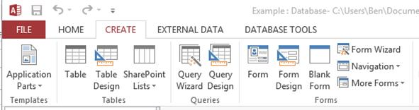 How to Create Simple Forms in MS Access 2013 | UniversalClass