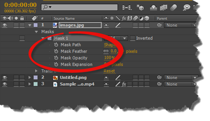 Adobe After Effects: Working with Masks and Animated Layers
