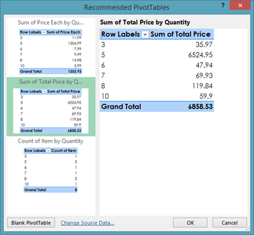 how to use pivot table in excel 2013 youtube