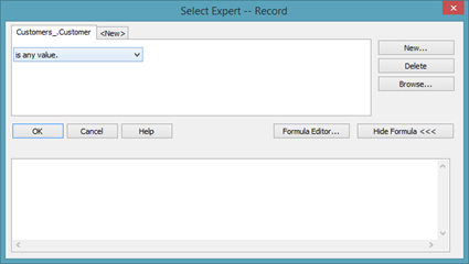 Sorting and Filtering Data in Crystal Reports   UniversalClass