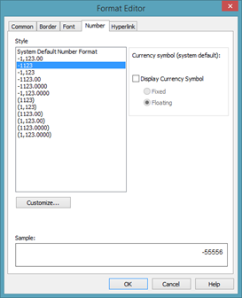 Crystal reports working with formulas universalclass select a number format then click ok altavistaventures Images