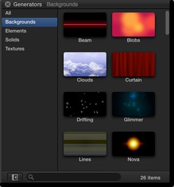 Final Cut Pro X: Using Transitions, Titles, and Generators