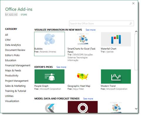 how to enable add ins in excel 2016