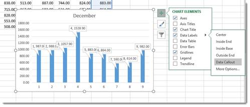 Excel 2016 creating charts and diagrams universalclass formatting a chart ccuart Images