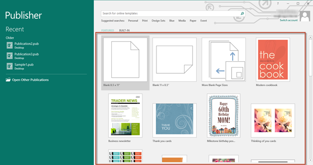 Microsoft Publisher Program Template from cdn.4uc.org