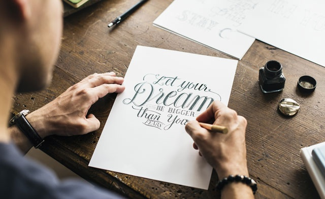 Online Class : Western Calligraphy