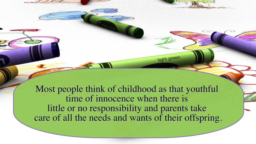 View Child Psychology 101 Video Demonstration
