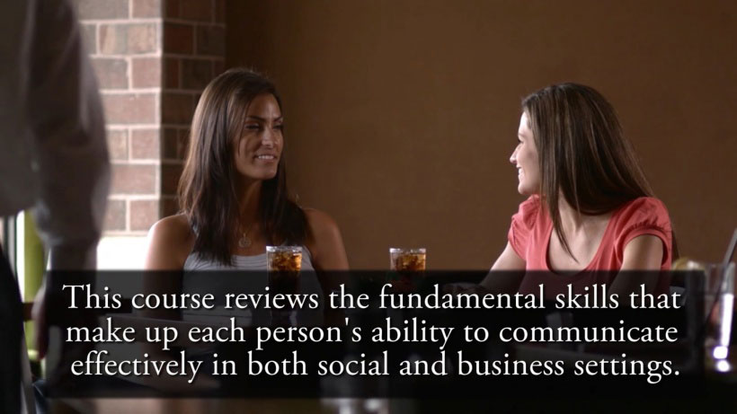 View Mastering Conversation Skills Video Demonstration
