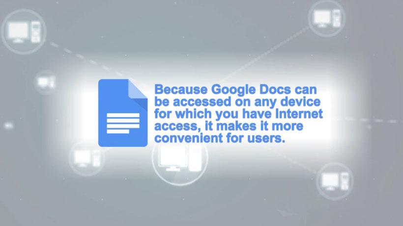 View Google Docs Video Demonstration