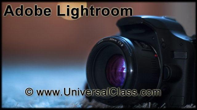 View Adobe Lightroom 101 Video Demonstration