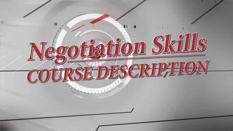 View Negotiation Skills Video Demonstration