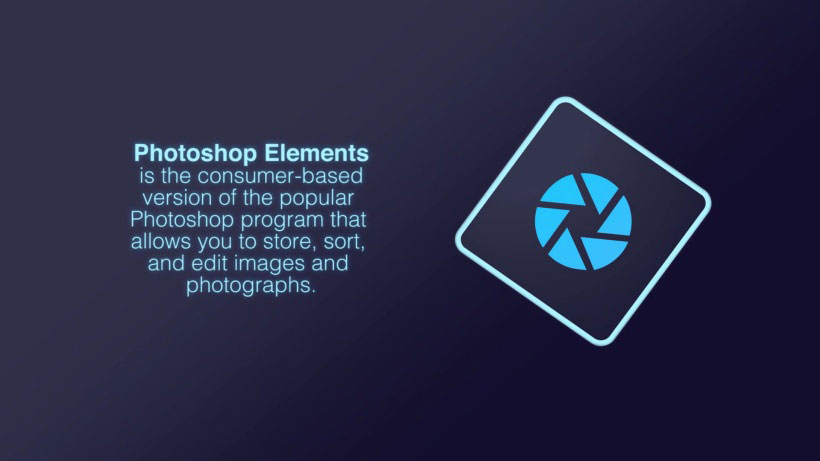 View Photoshop Elements 101 Video Demonstration