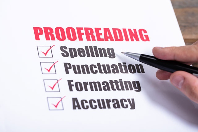 Online Class : Proofreading and Copyediting 101