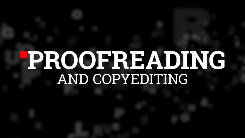 View Proofreading and Copyediting 101 Video Demonstration