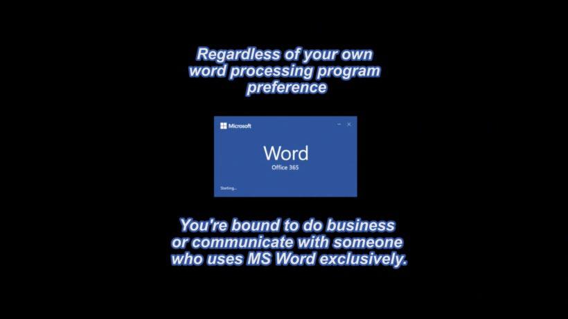 View Microsoft Word 2019 Video Demonstration
