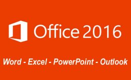 Office 2016: Word, Excel, PowerPoint and Outlook