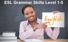 ESL Grammar Skills Level 1-5 Course Bundle