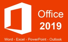 Office 2019 Word, Excel, PowerPoint, and Outlook