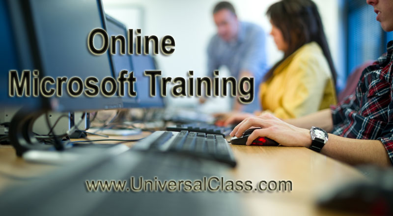 Online Microsoft Training Universalclass