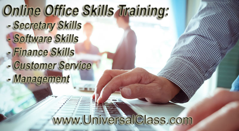 Office Training: Secretary, Customer Service, Business Management